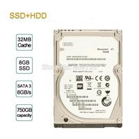"""Original brand XT SSHD ST750LX003 750GB 7200 rpm 32MB Cache 2.5"""" SATA3 6.0Gb/s with Solid State Hybrid Drive 8GB SSD"""
