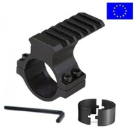 """Rifle Scope Accessory Mount 30mm & 25mm 1"""" Weaver/Picatinny Rail Laser Torch for hunting rifle gun"""