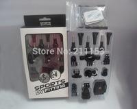 2014 Most Popular SJ4000 Sport Camera Full set Mounts Accessory Bicycle Scooter Helmet Mount Holder Sports DV Fitting for SJ4000