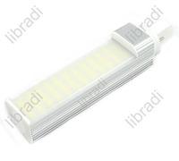 1pcs G24 10W 44 SMD 5050 800Lumen White / Warm White LED Light Lamp Tube Bulb 85-265V