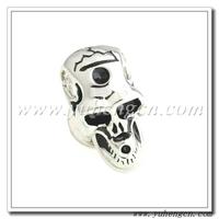 Free Shipping ! YHLP-1333 Fashion Novelty Enamel Skull Lapel Pins,Mens Badges- Mix Styles Acceptable