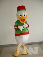 EMS free shipping Density Foa Cartoon Donald Duck Costume Duck Animal Animation Walking Mascot Performance Apparel