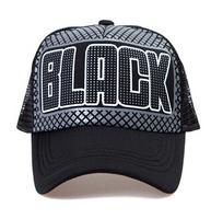 Couple the new hip-hop star summer hat  Truck mesh cap  Baseball cap visor-020