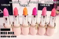 Christmas lipstick little Cat Korea  House Christmas Shopping ETUDEHOUSE limited Versailles princess lipstick 12PCS/LOT