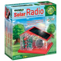 Solar-powered radio, DIY solar radio original authentic science toys educational toys assembling toys light FM radio
