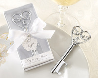Holiday Supplies Key to my Heart Bottle opener Wedding favors and gifts