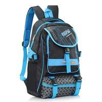 Middle school backpack shoulder bag casual classic color fluorescence Colorful couple tide backpack schoolbag travel bag