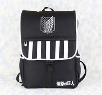 Advancing Titans backpack Animation shoulder backpack School student Backpack Canvas women Backpack  BP0344