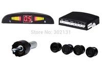 Car Parking Sensor System Distance Control Sensor With Led Display With 4 Sensor