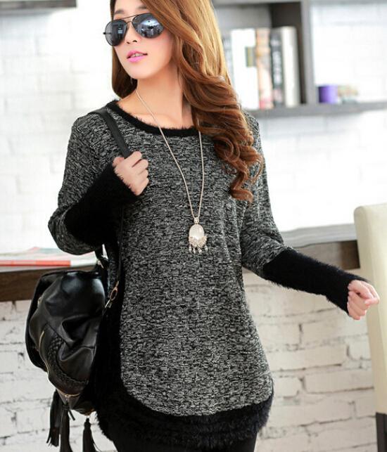 Женский пуловер IRIS Knitting o M8067