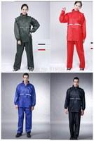 fashionable impermeable bicycle motorcycle electrombile rainwear camp raincoat men jacket and women poncho rainsuit set