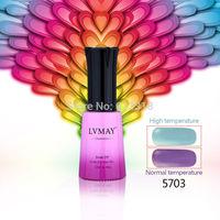 12pcs Margic nail gel LVMAY Chameleon Temperature Change Colors UV color gel soak off Nail art Varnishes gel