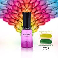 6pcs free shipping UV Temperature Change UV Gel Polish 12ml 0.4oz Nail Gel for Nail gel nails primer gel