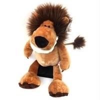 "Hot Sale High Quality 9.8"" Long Hair Lion NICI Plush Toys 25cm Stuffed Animal Soft Doll Baby Kids Gifts Free Shipping"