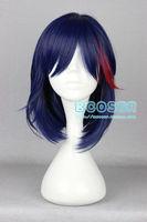Cosplay Wigs KILL la KILL / Double Chop Girl Anime Wig no Lace Front queen brazilian made wigs