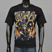 4M267 3d animal men print 100% cotton cat monster Free shipping new 2014 summer men's fashion cotton short-sleeve T-shirt