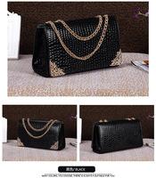 2014 new style hot women messenger bags free shipping chain bags shoulder bags women's messenger bags women handbags