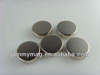 2000pcs D6H5 N35 Zinc Coated Nedoymium magnet/rare earth magnet disc