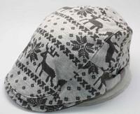 Christmas newsboy cap 2014 Fall winter flat cap unisex newsboy hat high quality