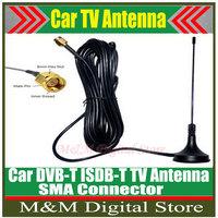 Free shipping!!! Car Digital TV Passive Antenna Mobile Car Digital DVB-T ISDB-T Aerial Antenna Car TV Antenna