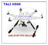 EMS Free shipping Walkera TALI H500 Drone Hexacopter with DEVO F12E G-3D Gimbal ILOOK+ camera FPV GPS IOC