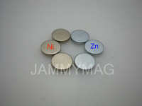 Small size D3H2 N35 Nickel coated rare earth magnet sheet (10000pcs as a pack)