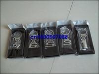 Mix Series 1 3 5 6 3D 100pcs  Men's Keychains Keyrings Key Ring Chain Rings Keychain