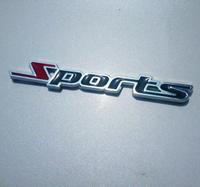 New 3D Metal Sports Emblem Car Truck Motor Sticker Auto Decal Car Sticker