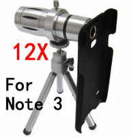 high quality mobile phone 12x Zoom optical metal Telescope Camera telephoto Lens For samsung note 3