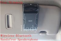 Sunshade Board Wireless Bluetooth SpeakerPhone Car Kit Bluetooth Handsfree Speakerphone re-connection Mobile Free Shipping