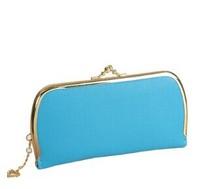 Lowest Price PU leather women's wallets fashion hasp clutch bags Vintage long design women coin purse QB30
