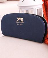 Brand 2014 New Scrub Woman Purse Bows Long Wallet Women Bag Handbag Free Shipping