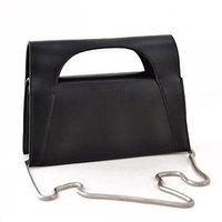 Fashion Personalized Women's Handbags PU Leather Shoulder Bag Black Crossbody Desigual Bags Chain Bolsas WJ1056