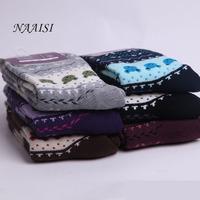 2014 new design Women socks lady's fashion socks winter warm socks 6 pairs/lot N-5