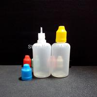 30ml Plastic Dropper Bottles With Childproof Cap Empty Eye Dropper Bottles For E Cigarette Bottle 50pcs/lot Needle Bottle