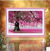 Free shipping 5D diamond Painting Diy kit Round diamond paste diamond draw Home Decoration Love the place