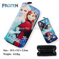 New fashion 1pcs baby girls Frozen Coin Purses/kids Snow Queen wallet/chilldren princess Elsa Anna money bag,party supplies