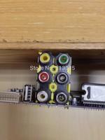 SIX  RCA SOCKET ,AV6-8.4-13feiji,,AV JACK,Outlet jack,Customized welcomed