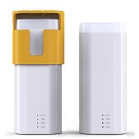 Mini Mobile power supply mobile phone universal charging  portable portable power bank with LED light  for Christmas gift