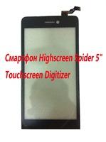 """Original Highscreen Spider 5"""" 1280x720  SmartPhone Touch screen Digitizer Glass Sensor"""