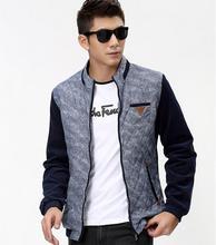 2014 new fashion men jacket collar Slim winter Men and coats casual Jacket jaquetas casaco masculino