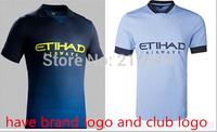 Manchester city home away new seasons player version thailand quality NASRI KOMPANY SILVA soccer jerseys free shipping shirts