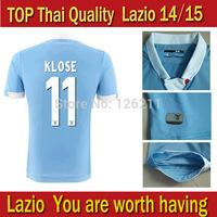 New Lazio 14 15 Home Jersey Lazio football shirt Lazio 2015 KLOSE jersey KEITA BALDE L BIGLIA KLOSE CANDREVA RADU LEDESMA MAURI