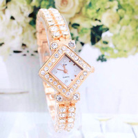 Free shipping,Newest style, High quality,Female table fashion table table restoring ancient ways with diamond watches