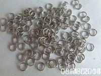 uikuyiFx1575AMAZING!!nickelopen jump ring 12mm (1.0hick) bulk5000pcs/lot free shipping
