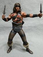 "NECA 2008 Conan The Barbarian Pit Fighter Conan 7"" Series 1 Action Figure Loose"