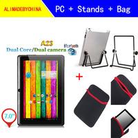 7inch Allwinner Q8H Tablet PC + Stands + Bag