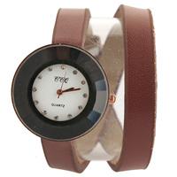 13 colors European Women Dress Watch stylish women casual watch Quartz Watches Genuine Cow leather bracelet wristwatch JW1732