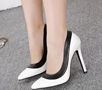 woman high stiletto heel pumps platform ladies shoes sexy shoes  fuax leather wedding party night club eshoes cs317-A8