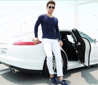 2014 Free shipping brand men loafers men platform moccasins espadrilles fashion lace up canvas shoes boat shoes male 4 colors